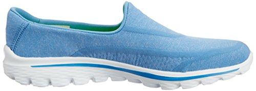 Skechers Gå Walk 2 Super Sok Dame WalkingSko Blau (blu) WCGFjnzw