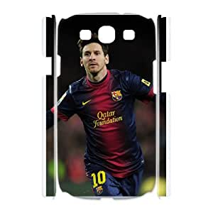 DIY Printed Lionel Messi cover case For Samsung Galaxy S3 I9300 BM6699268