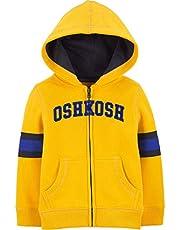 OshKosh Baby-Boys Full Zip Logo Hoodie