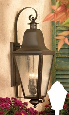 Artistic 1103-AC 3 Light Outdoor Post Lanterns - Aged Copper