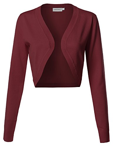 Awesome21 Womens VISCOSE Stretch Cardigan