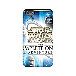 Bumper Cell-phone Hard Covers For Iphone 6plus (Cuk670LkzP) Unique Design Attractive Strat Wars Skin