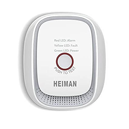 HEIMAN Zigbee Detector de alarma de fuga de gas HS1CG