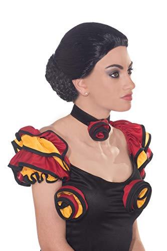 Flamenco Dancer Costumes Men - Forum Novelties Women's Spanish Dancer Wig,