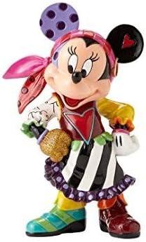Enesco Disney by Britto Minnie Mouse Pirate Stone Resin Figurine