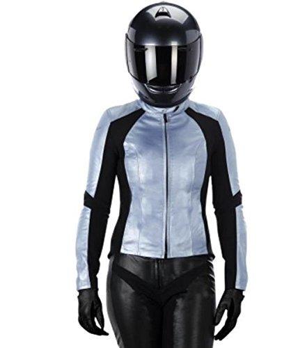 Alpinestars Stella Vika Leather Jacket Blue 44 3115514-779-44