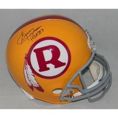 4b1a2a04a55 Autographed Sonny Jurgensen Signed Washington Redskins Full Size Throwback  Helmet