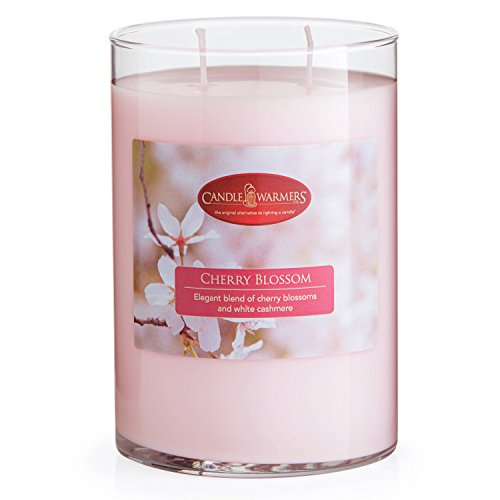 Candle Warmers Etc. Fresh Scents Collection, Cherry Blossom - 22 Ounce Candle