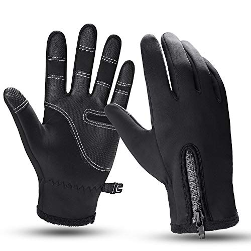 Winter Warm Gloves Touch Screen Waterproof Anti-slip Outdoor Sports