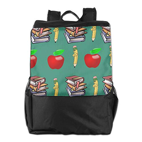 Louise Morrison Classics Teachers Pet Apple Women Men Laptop Casual Business Travel Backpack College School Bookbag