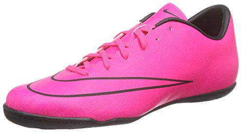 Nike Men's Mercurial Victory V IC Indoor Soccer Shoe (Sz. 10) Hyper Pink