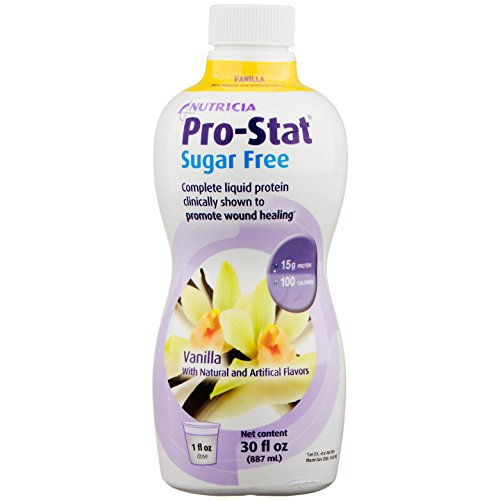 Pro-Stat Sugar Free Liquid Vanilla Flavor 30oz (Sugar Free Liquid)