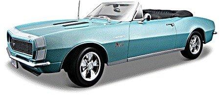 Maisto Tech 1967 Chevrolet Camaro SS 396 Convertible Turquoise 1:18
