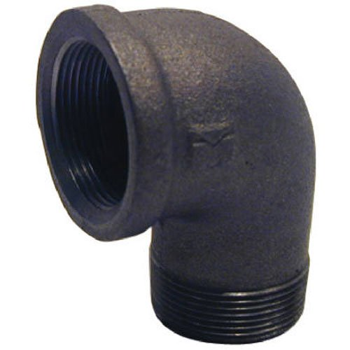 1/4 Black Street Elbow (PANNEXT FITTINGS B-S9002 90 Degree Street Elbow, 1/4