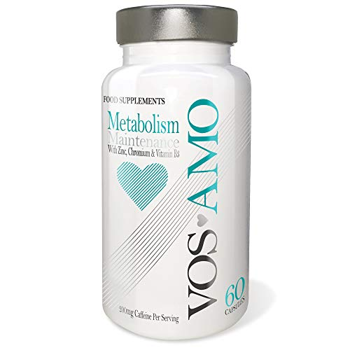 Vos Amo Metabolism Maintenance Fat Burners with Added Zinc, Chromium all Research Backed and EFSA Approved to Help…
