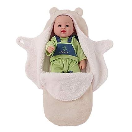 JASA kids Baby Schlafsack innen weich gef/üttert Pucksack f/ür Neugeborene zu jeder Jahreszeit verwendbar Blau