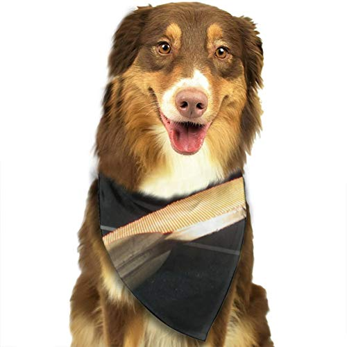 Pet Scarf Dog Bandana Bibs Triangle Head Scarfs Table Tennis Ball Accessories for Cats Baby Puppy]()