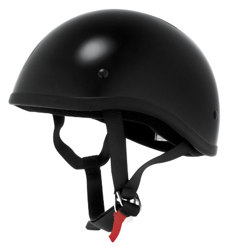 Skid Lid Helmets Original Solid Helmet , Size: XL, Primary Color: Black, Distinct Name: Black, Helmet Category: Street, Helmet Type: Half Helmets, Gender: Mens/Unisex XF64-6604