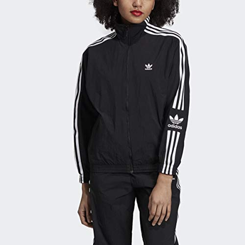 adidas Originals Women's Lock Up Track Top Jacket, black, Small