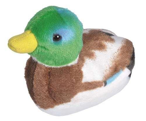 Wild Republic Audubon Plush Mallard Duck with Authentic Quack