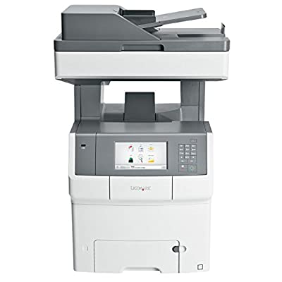 Lexmark 34T5013 (X748DTE) Color Laser Printer with Scanner, Copier & Fax