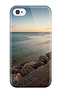 New Style Case Cover KWBylFc6235lwxjF Clam Beach Compatible With Iphone 4/4s Protection Case hjbrhga1544