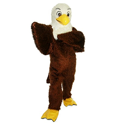 Brown Eagle Bird Mascot Costume Character (M(170-180))]()