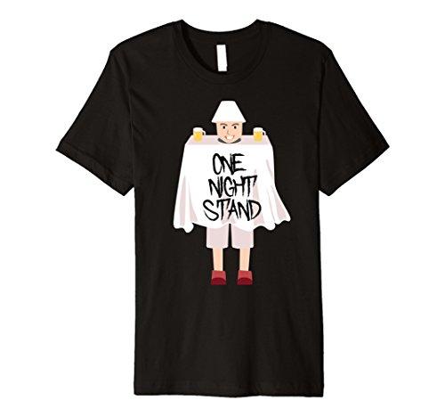 Halloween Outlandish Costumes (Mens One Night Stand Hilarious Weird Halloween Costume T-Shirt 3XL)