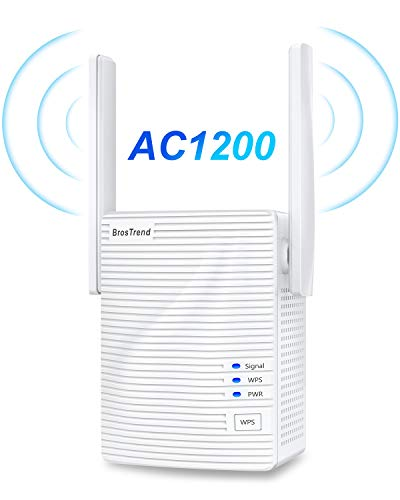 BrosTrend 1200Mbps WiFi Range