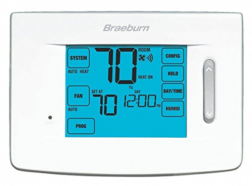 Low Voltage WiFi Thermostat, Stages Cool 1, Stages Heat 1
