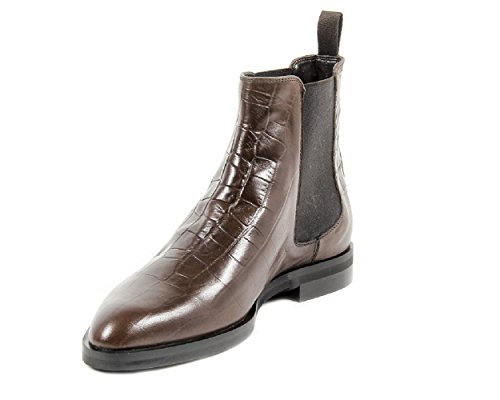 Versace 19.69 Abbigliamento Sportivo Srl Milano Italia Womens Ankle Boot B1578 COCCO CASHMERE BROWN