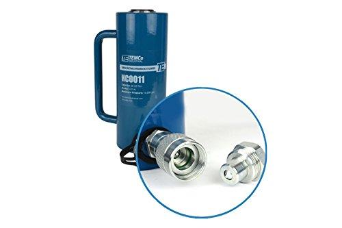 TEMCo HC0011 - Hydraulic Cylinder Ram Single Acting 20 TON 6