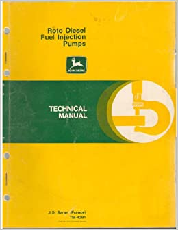 Roto Diesel Fuel Injection Pumps Technical Manual TM-4281
