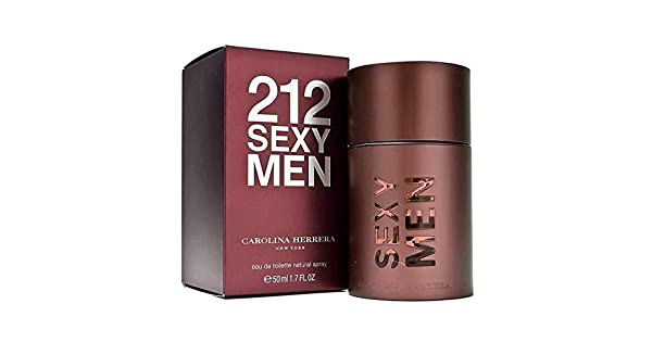 8dfa7e60a Carolina Herrera 212 Sexy For Men 50ml - Eau de Toilette: Amazon.ae:  GLAZEDFASHION