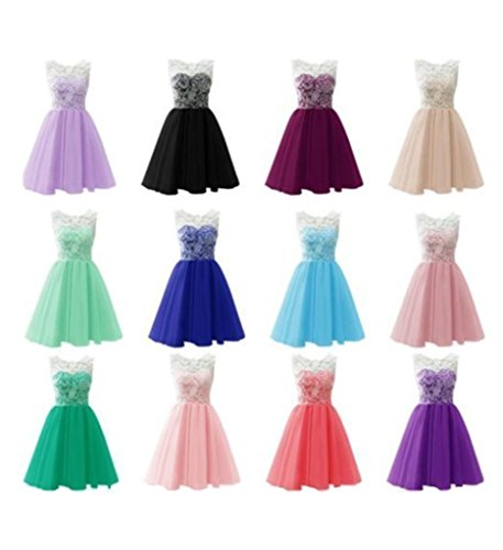 Drasawee burgunderfarben A Kleid Damen Linie zqxCzgPw