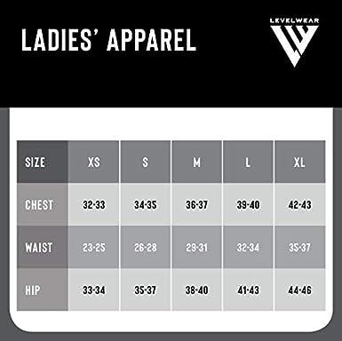Levelwear NHL Womens Entice Crested V-Neck Tee