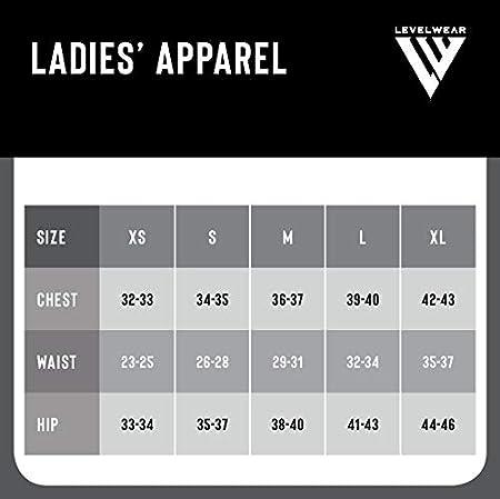 Levelwear Womens Paris Retro Script Ladies Long Sleeve Top