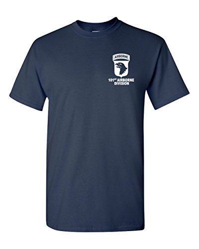 101st Airborne Division Army Navy T-Shirt USA (Navy, ()