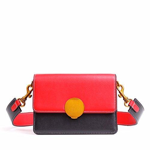 la nuova signora moda contrasto colore festa borsa, semplice crossbody borsa.,b. b.