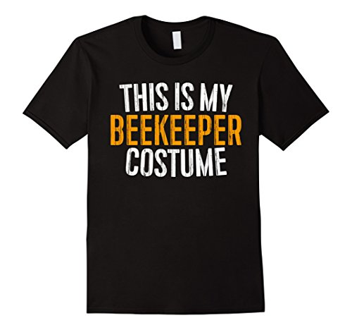 Male Bee Keeper Costume (Mens This Is My Beekeeper Costume T-Shirt XL Black)