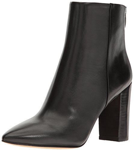 Nine Boot Hatcher West Black Women's Leather rHrx4wnITq