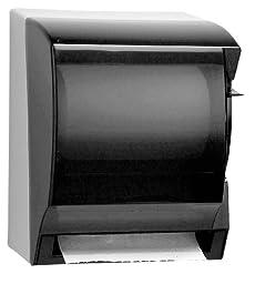Kimberly-Clark 09736 IN-SIGHT Lev-R-Matic Smoke Grey Roll Towel Dispenser, 13.75\