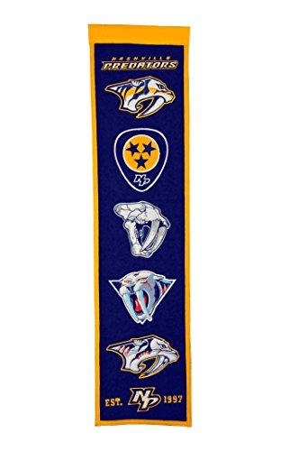 NHL Nashville Predators Heritage Banner