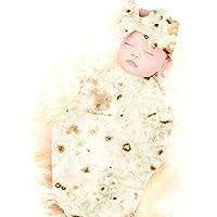 Junshion Burrito Kids Blankets Baby Flour Tortilla Swaddle Blanket Sleeping Swaddle Wrap Sets