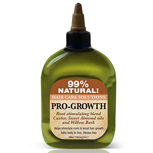 - Difeel 99% Natural Hair Care Solutions, Pro-growth, 7.78 Ounce