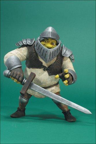 McFarlane Toys -- Dragon Battlin  Shrek with Attachable Helmet