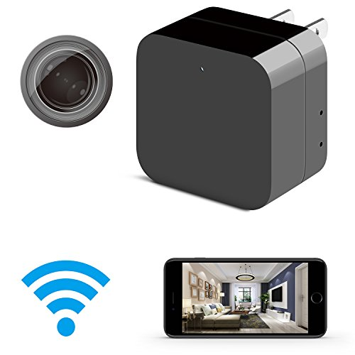 41iTtIiC%2B%2BL - Hidden Camera - Spy Camera - HD 1080P - WiFi Camera APP Remote View with APP - USB Wall Charger - Support 128GB Micro SD Card - with Motion Detection for Home Security, Pet Baby Monitor by JOWTTE
