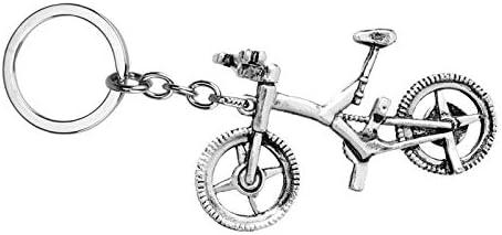 Accesorios de Moda Cuerpo Deportivo Bicicleta Llavero Llaveros ...