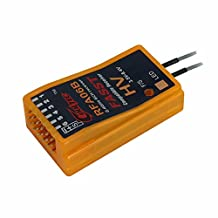 HITSAN Cooltech RFA06B 6CH 2.4G FASST Compatible Receiver for Futaba 6EX 7C TM-7 TM-8 T8FGT10C One Piece