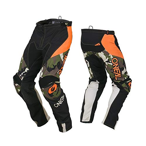 O'Neal Men's Mayhem Lite Pant (Ambush) (Orange, 38) (Orange Mayhem Pants)
